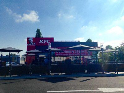 COBAREC finalise l'enveloppe du restaurant KFC de Biganos (Gironde)