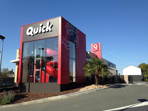 Cobarec intervient au Restaurant Quick – Poitiers