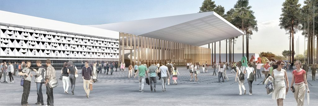 Cobarec participe aux travaux du nouveau Hall du Parc des Expositions de Bordeaux