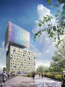 Tour Innova à Bordeaux Chartrons par les architectes
