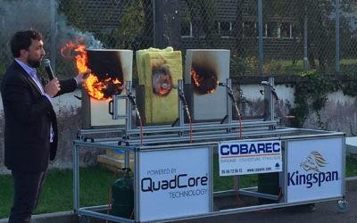 COBAREC ouvre ses portes et brûle les isolants !