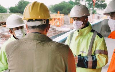 Cobarec relance l'activités sur ses chantiers dans le respect des gestes barrières.